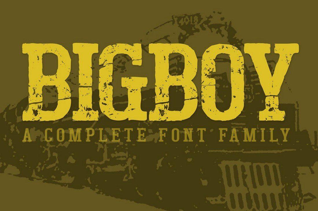 Bigboy-Slab-Serif 50+ Best Slab Serif Fonts of 2019 design tips