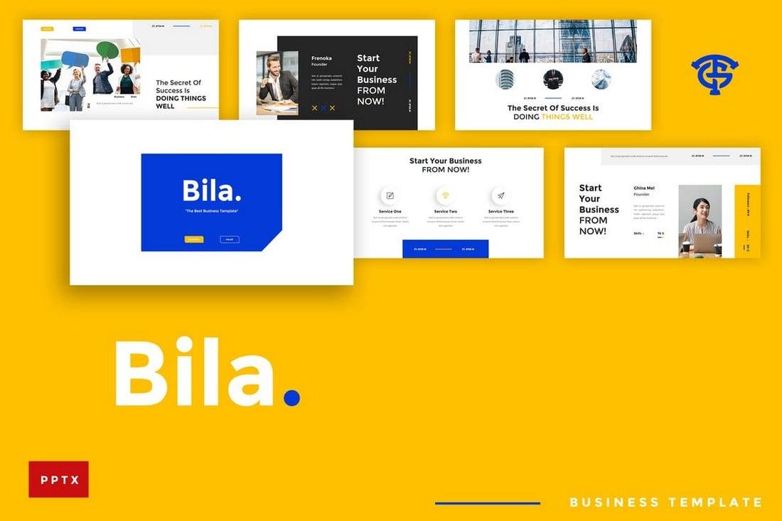 Bila Business - Creative Powerpoint Template