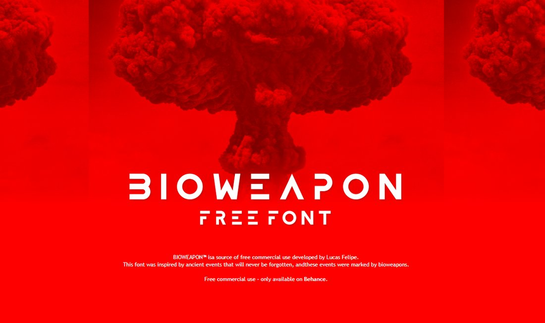 Bioweapon - Free Modern Typeface