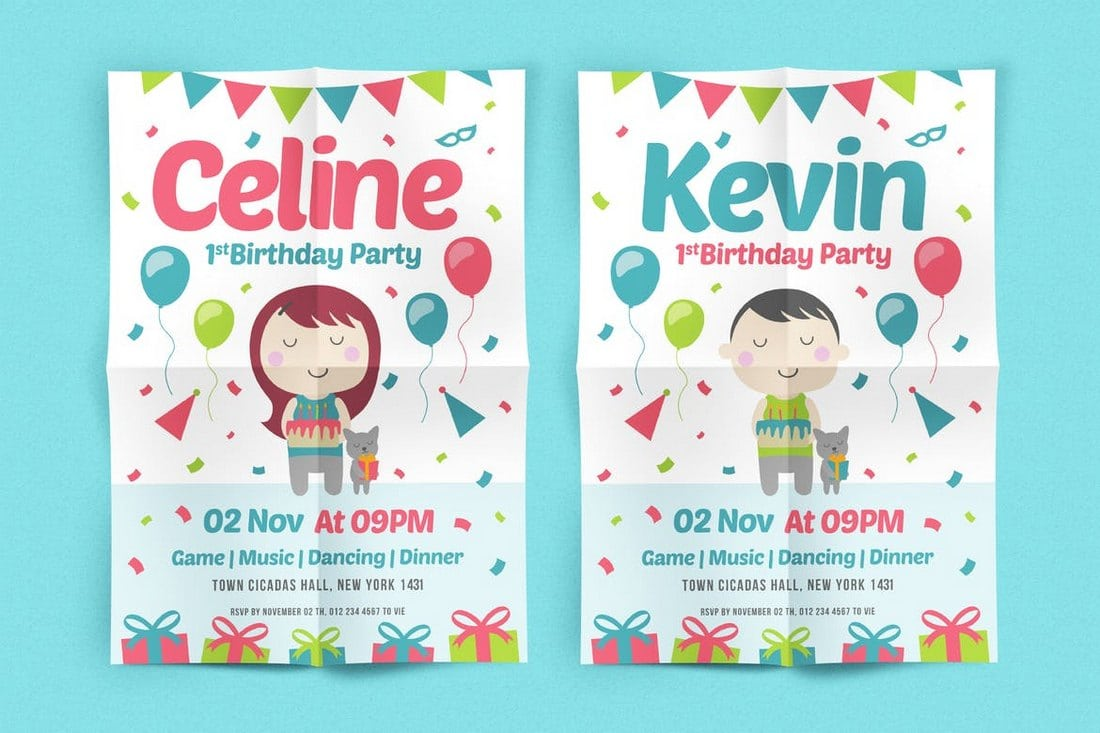 Birthday-Party-Flyer 30+ Best Event Flyer Templates design tips