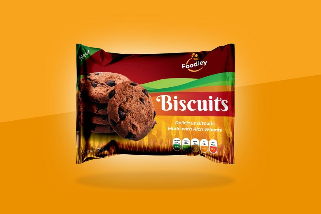 Biscuit Packaging Design Template