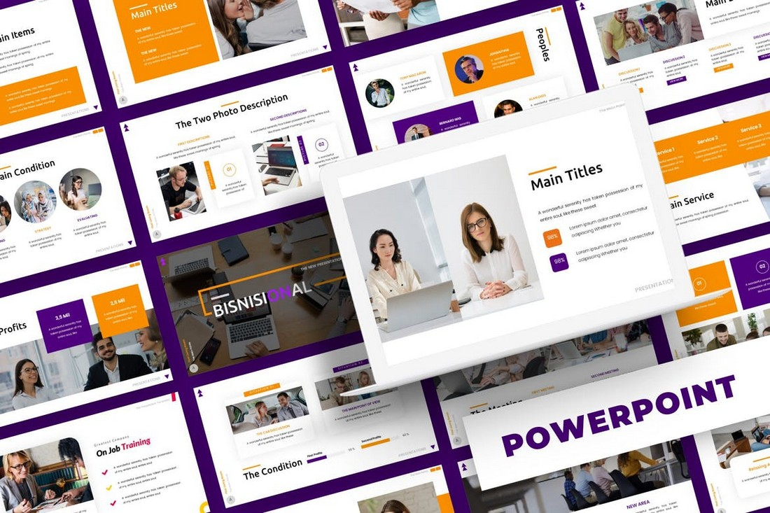 Bisnisional - Business Powerpoint Template