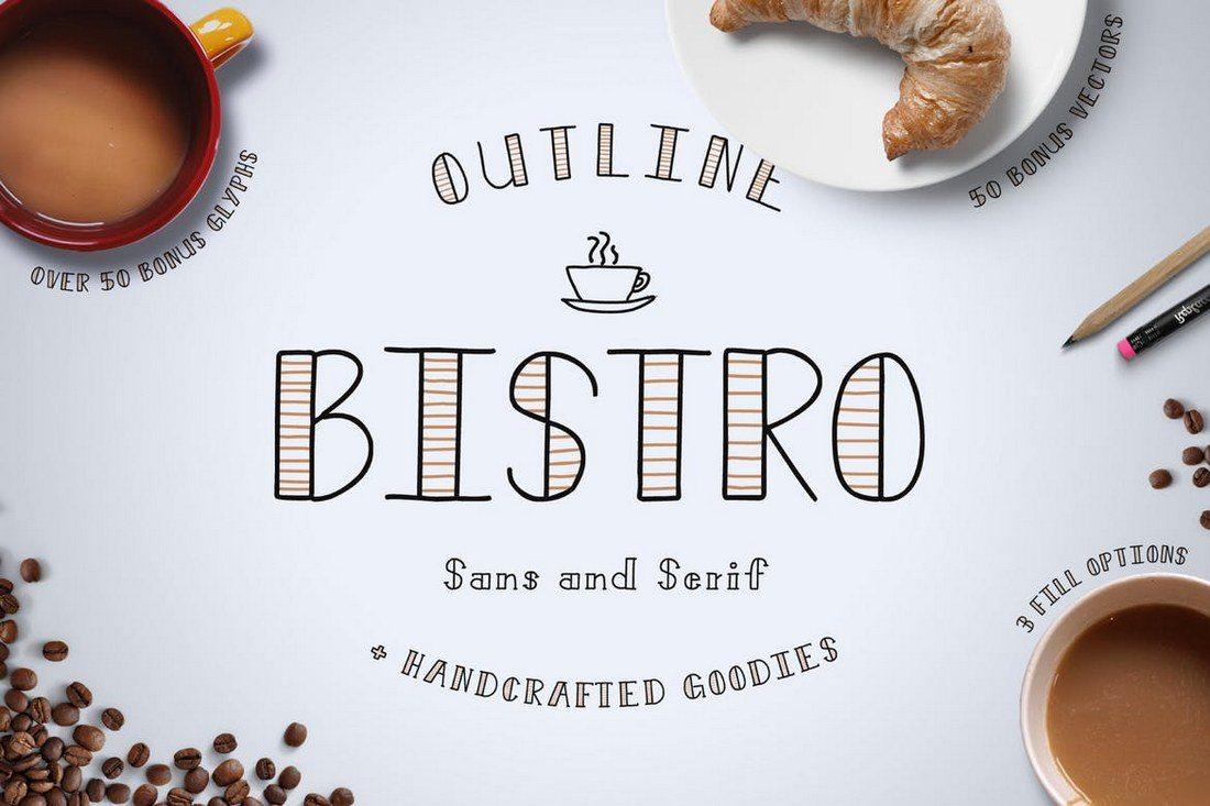Bistro-Font-1 100+ Best Modern Serif Fonts design tips