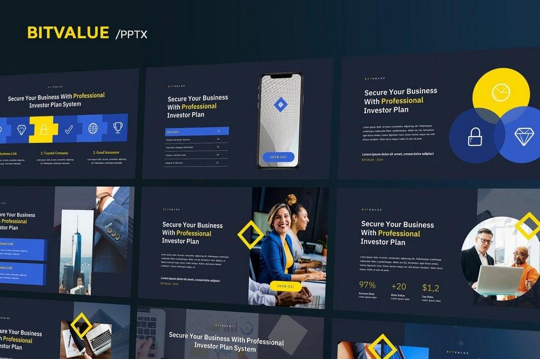 BitValue - Corporate Powerpoint Template
