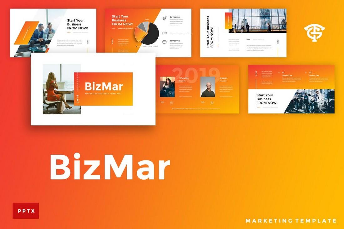 BizMar-Marketing-Powerpoint-Template 50+ Best PowerPoint Templates of 2020 design tips