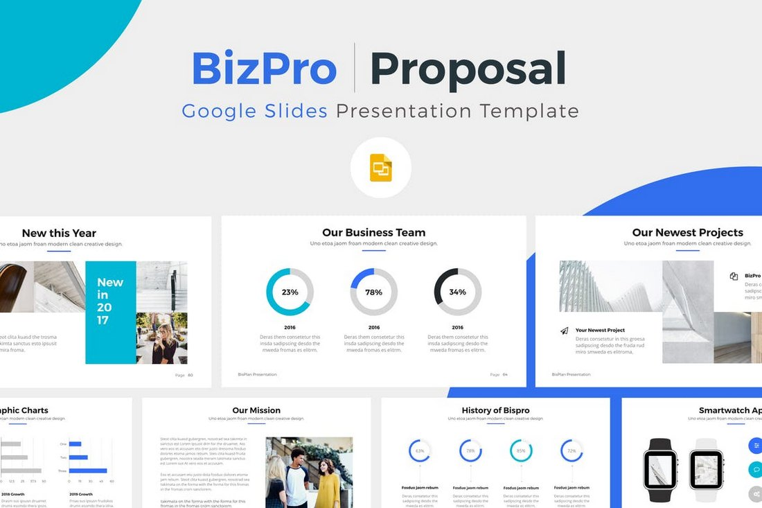 30 best google slides themes templates 2018 design shack for Google sites faq template