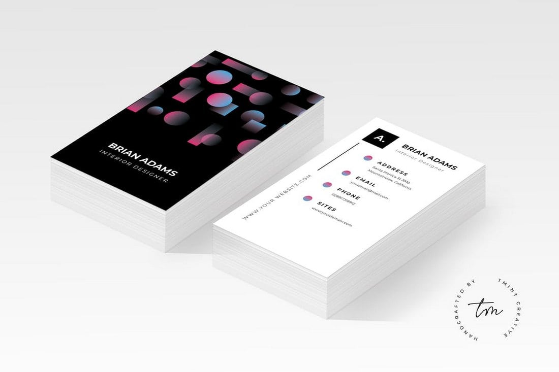 Photography business cards 20 templates ideas design shack black business card template wajeb Gallery