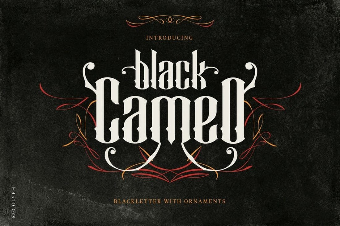 Black-Cameo-font 30+ Best Tattoo Fonts & Lettering design tips  Inspiration|tattoo