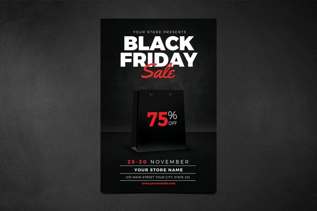 Black-Friday-Flyer 20+ Best Event Flyer Templates design tips