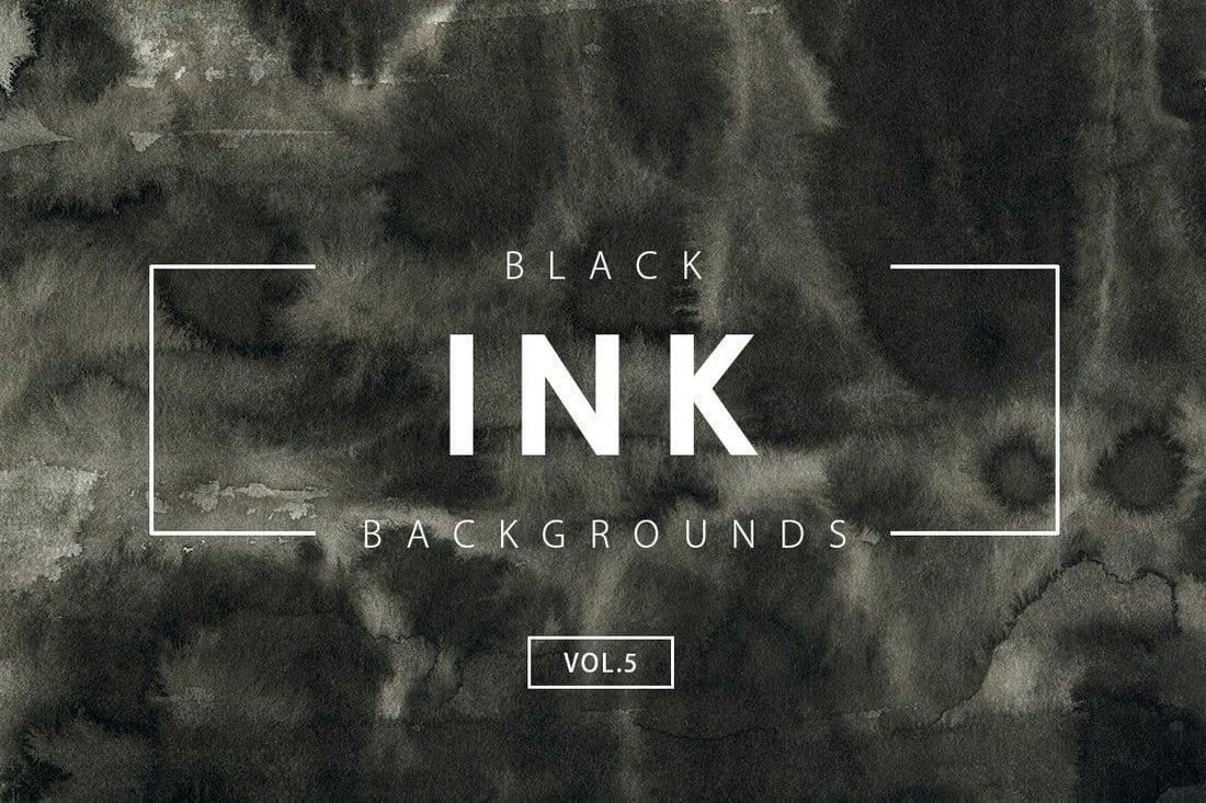Black-Ink-Backgrounds-Vol.5 20+ Black Texture Background Graphics design tips