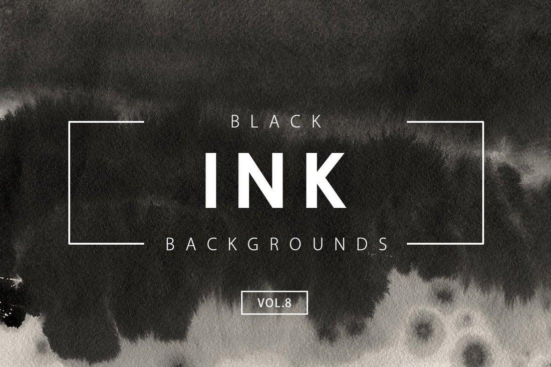 Black-Ink-Backgrounds-Vol.8 20+ Black Texture Background Graphics design tips