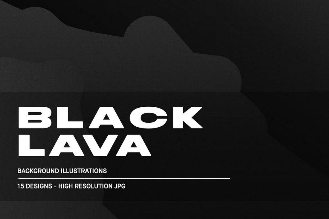 Black-Lava-Background-Textures 20+ Black Texture Background Graphics design tips