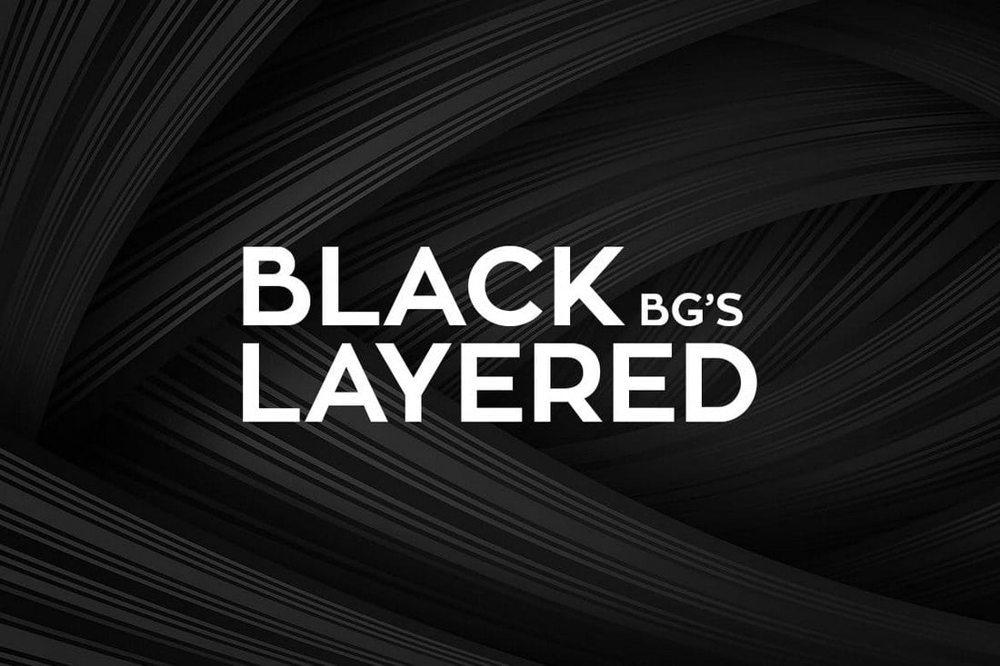 This is a bundle of unique abstract black backgrounds that feature smooth and stylish layered designs it includes 10 different backgrounds in 3000 x 2000