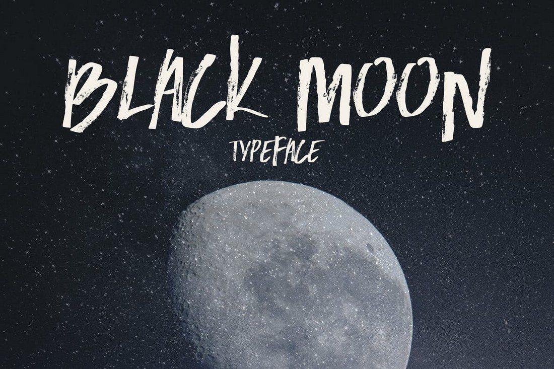Black-Moon 60+ Best Big, Poster Fonts of 2019 design tips