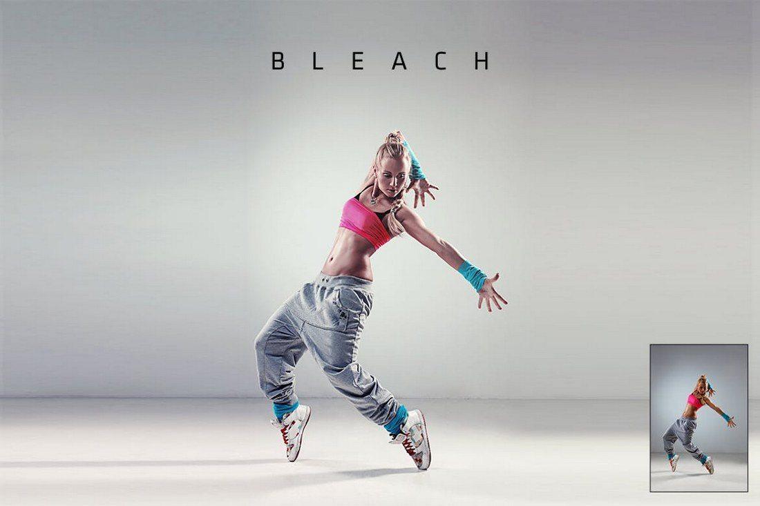 Bleach-Action 20+ Best Portrait Photoshop Actions design tips