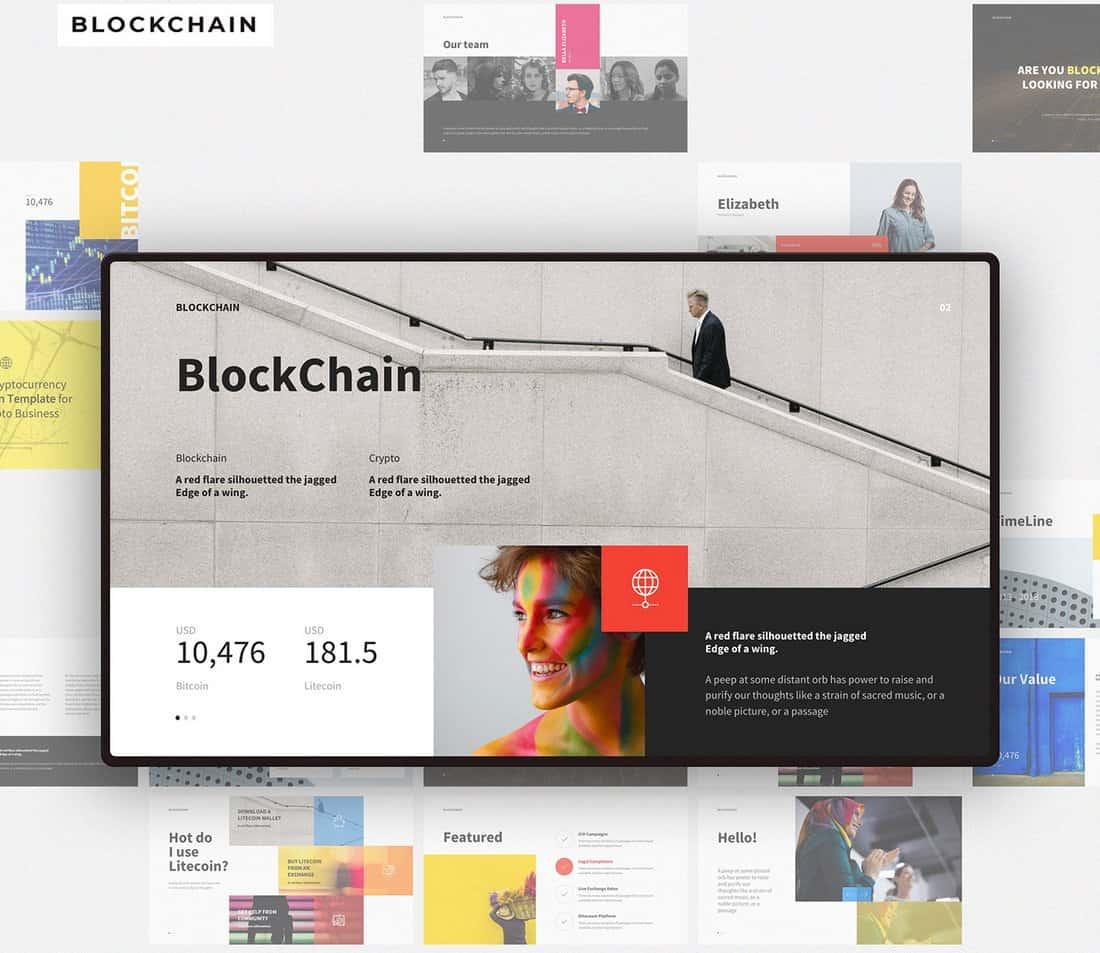 BlockChain - Free Keynote Presentation