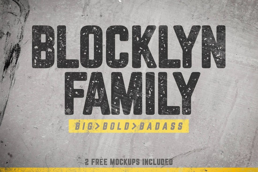 Blocklyn-Font-Family 40+ Best Condensed & Narrow Fonts of 2019 design tips