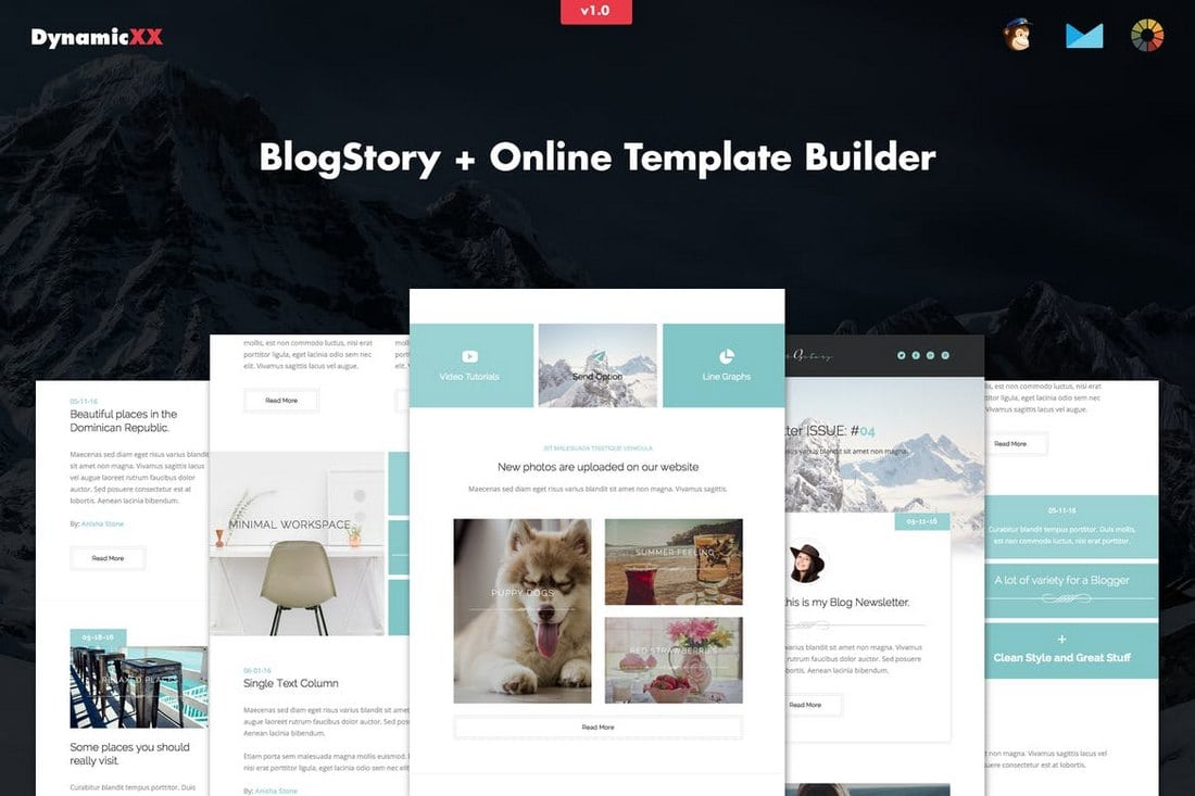 25 Modern Responsive Email Templates Design Shack