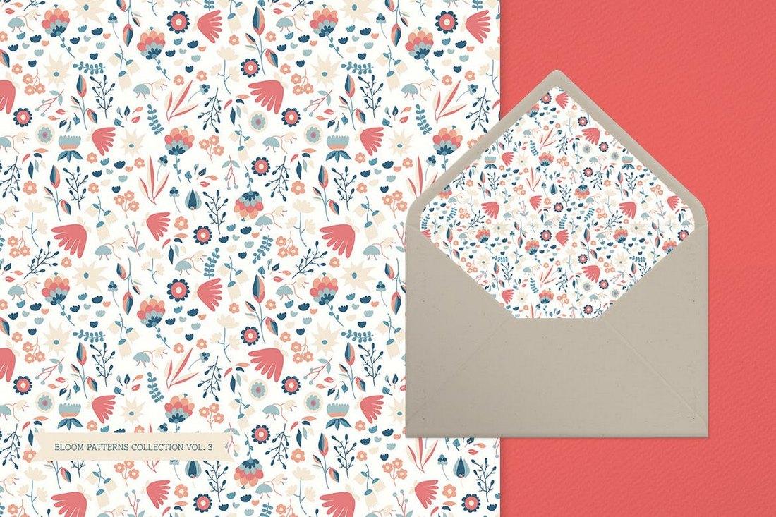 Bloom-Patterns-Collection-vol.3 20+ Best Floral & Flower Background Textures design tips