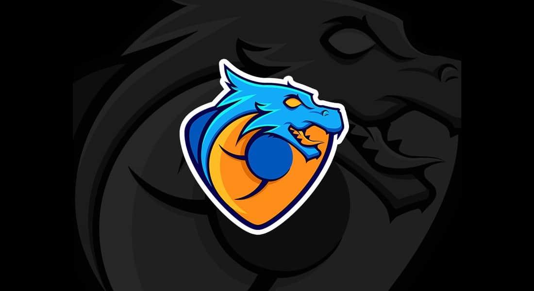 Blue Dragon Logo Template (AI & EPS)