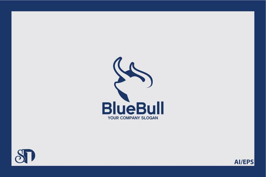 BlueBull 50+ Best Minimal Logo Design Templates design tips