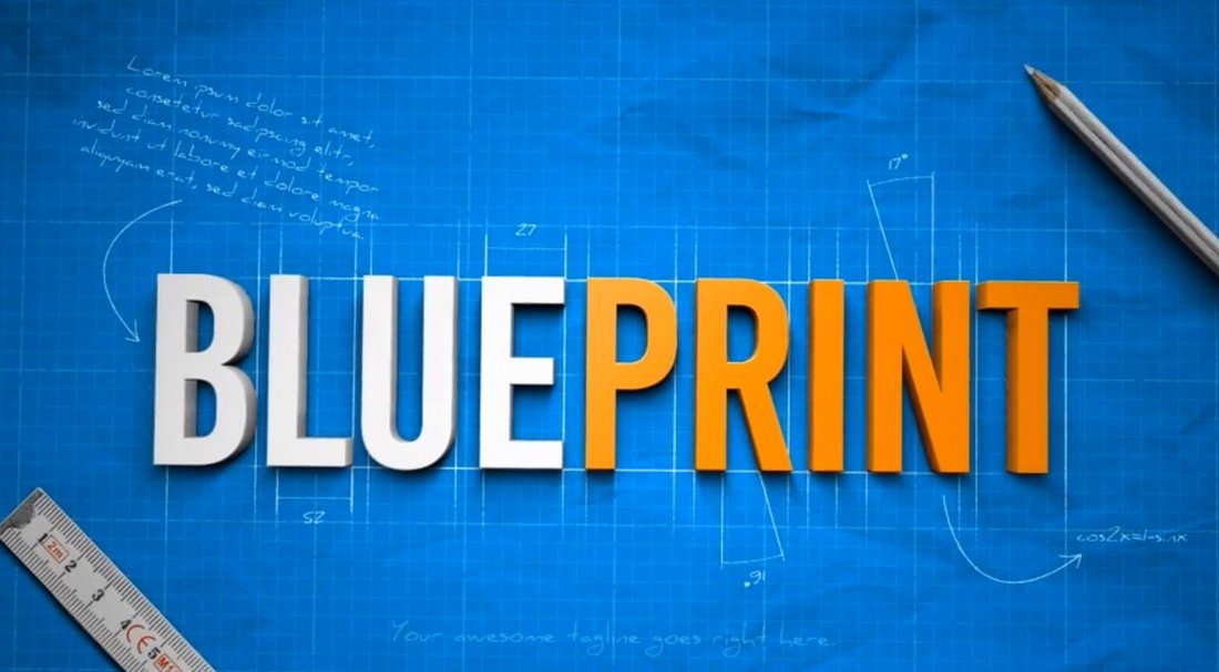 Blueprint - After Effects Logo Reveal Template