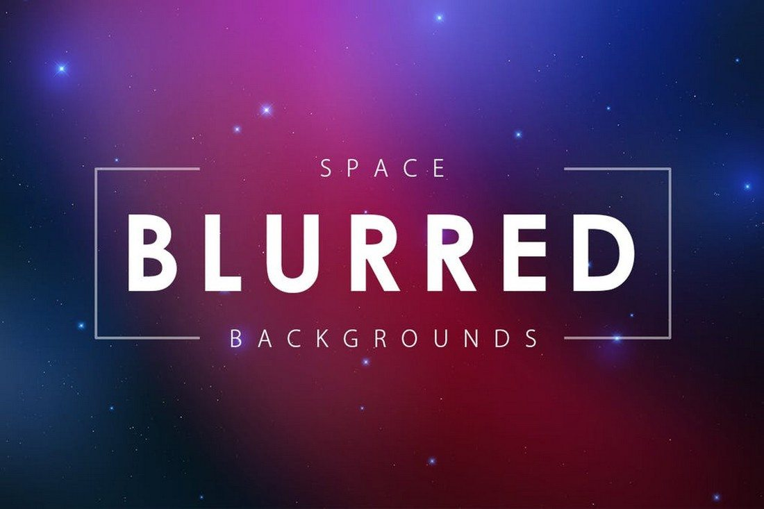 Blurred-Space-Backgrounds 35+ Best Space & Galaxy Background Textures design tips