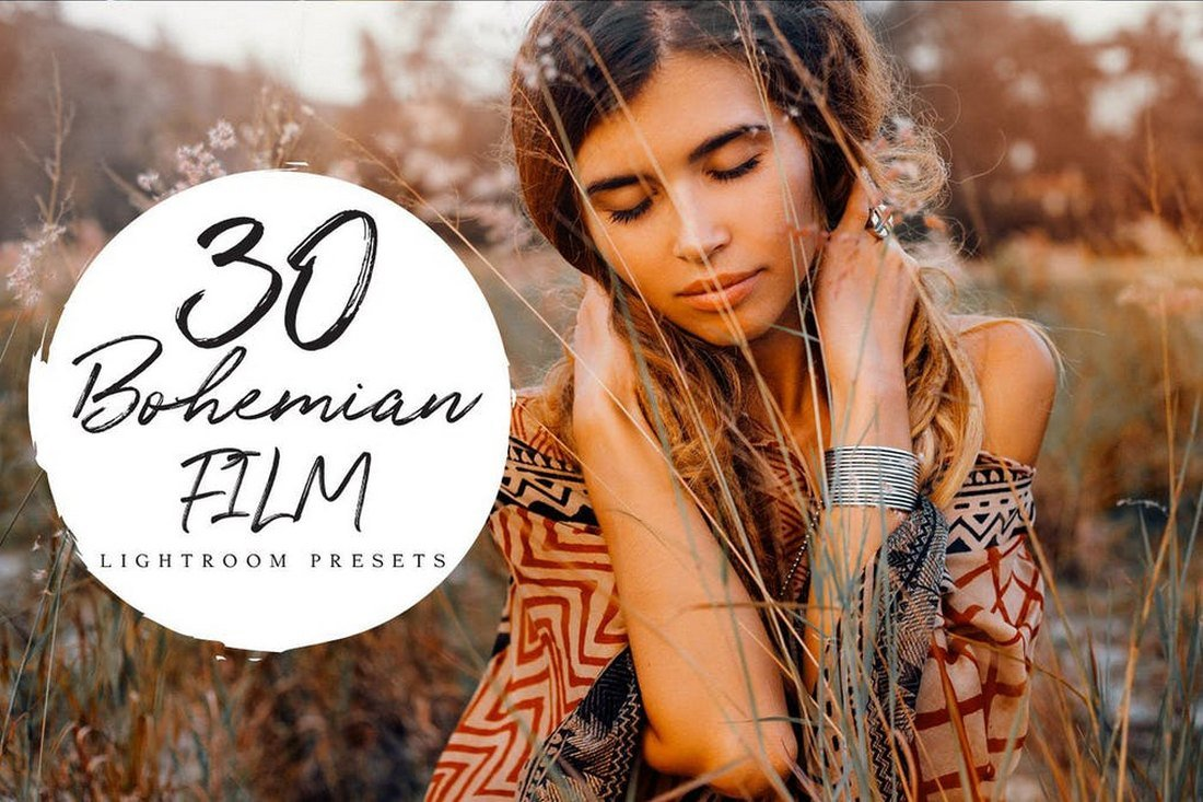 Bohemian - Film Lightroom Presets