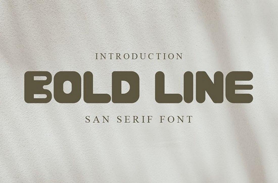 Bold Line - Free Creative Block Font 2