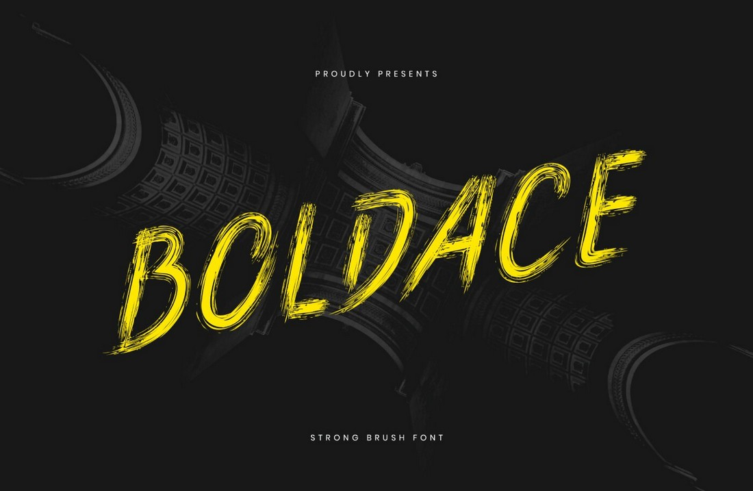 Boldace - Free Decorative Brush Font