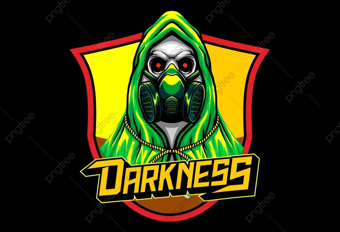 Bomber Skull - Free Gaming Logo Template