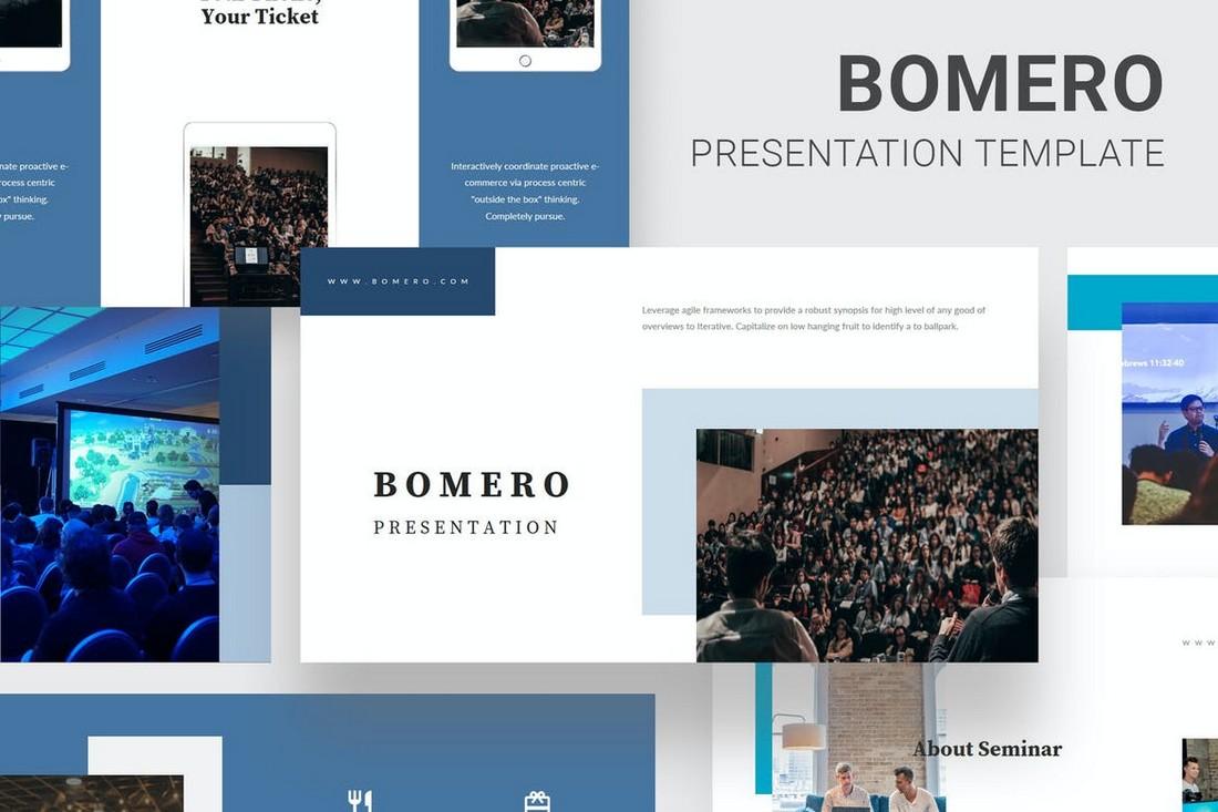 Bomero-Webinar-Event-Powerpoint 20+ Best Webinar PowerPoint Templates (Remote Presentation PPT Slides) design tips