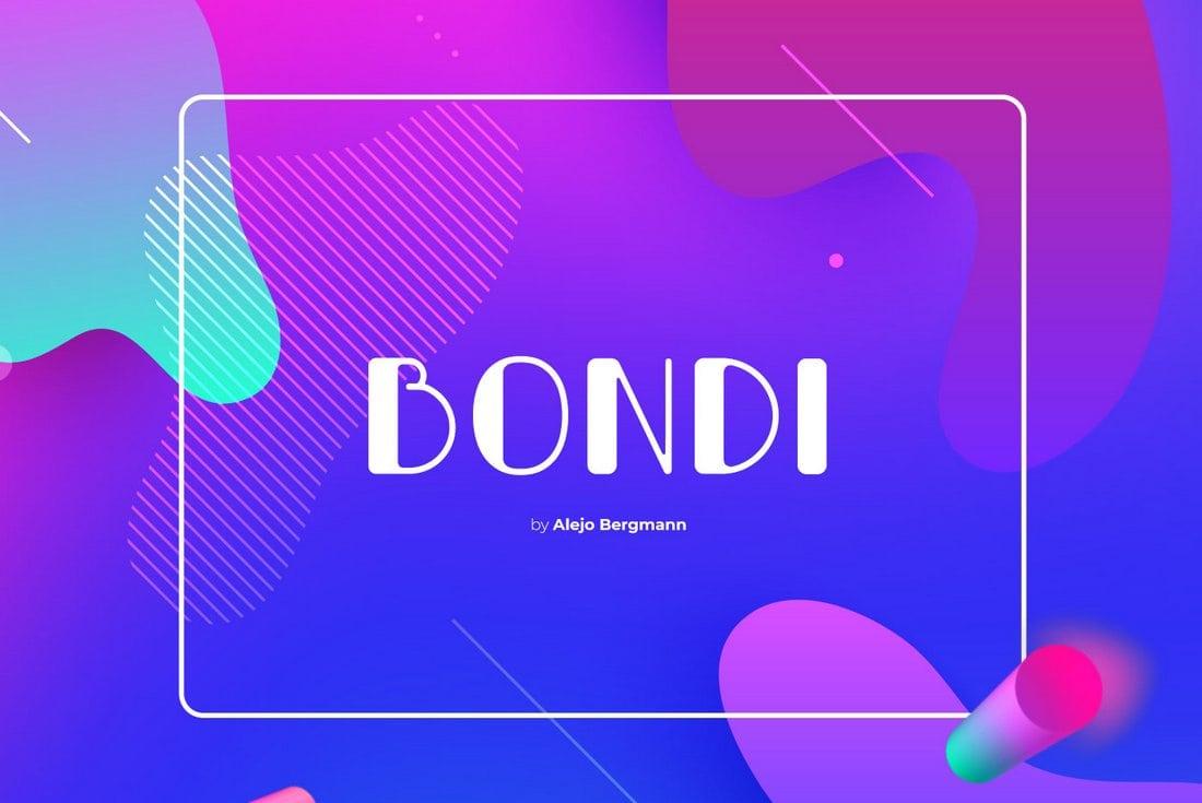 Bondi - Free Creative Font