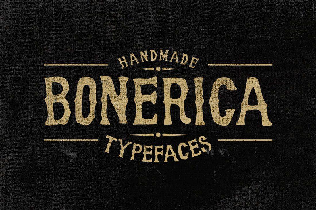 Bonerica-Typeface 60+ Best Big, Poster Fonts of 2019 design tips