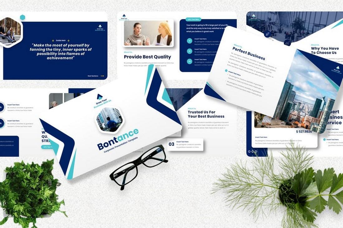 Bontance - Corporate Powerpoint Template