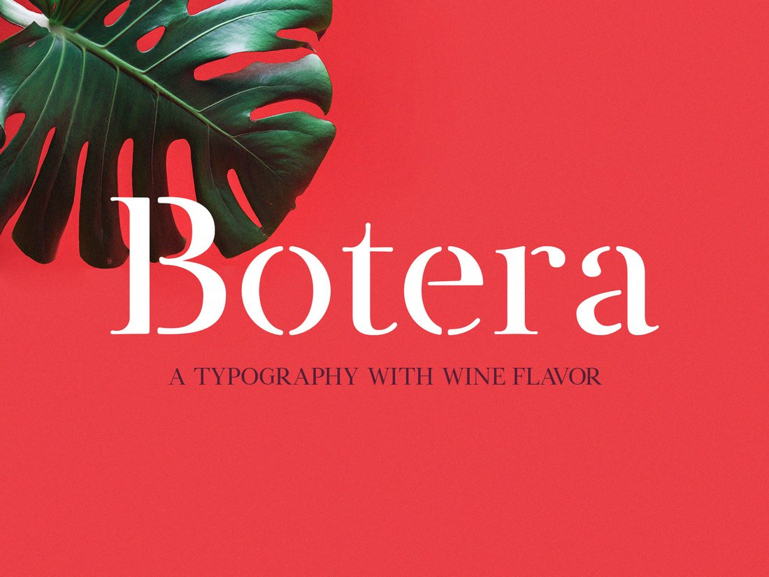 Botera-Creative-Free-Stencil-Font 35+ Best Stencil Fonts design tips