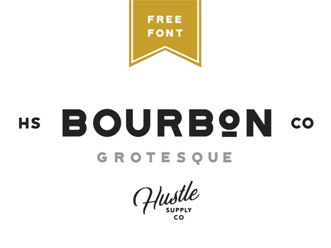 Bourbon-Grotesque-Free-Font 60+ Best Free Fonts for Designers 2019 (Serif, Script & Sans Serif) design tips