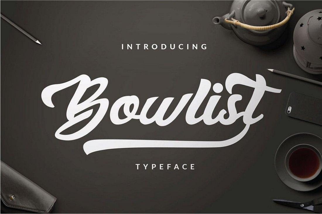 Bowlist-Logo-Type-Font 30+ Best Fonts for Logo Design design tips