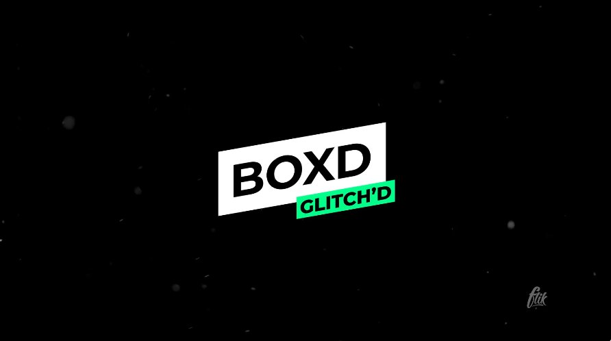Boxd - Glitch Animated Premiere Pro Title Template