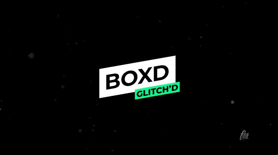 Boxd - Glitch Animated Premiere Pro Title Template