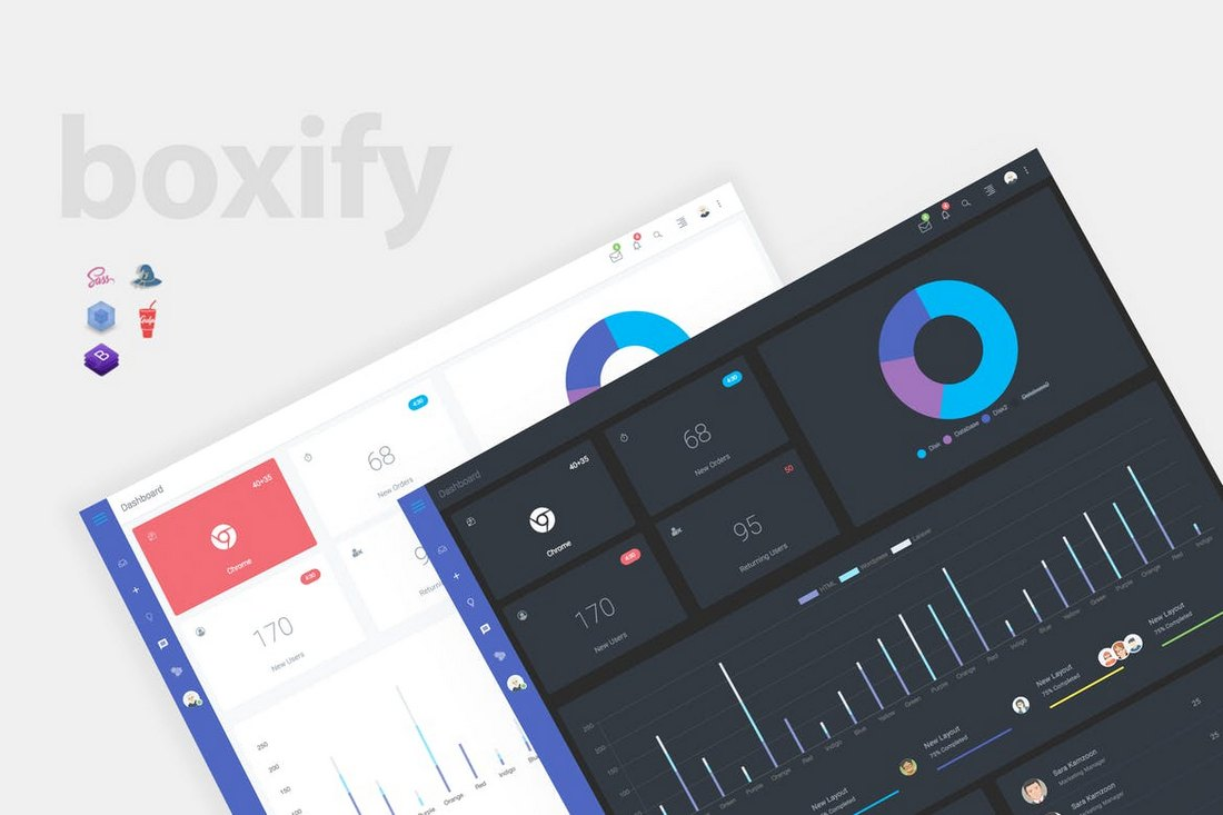 Boxify-Bootstrap-4-Admin-Dashboard-Template 40+ Best Bootstrap Admin Templates of 2019 design tips