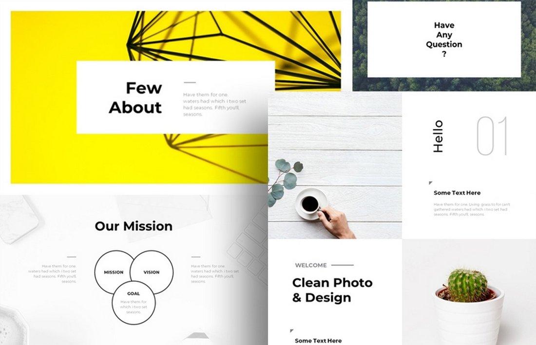 Brand - Free Modern Powerpoint Template