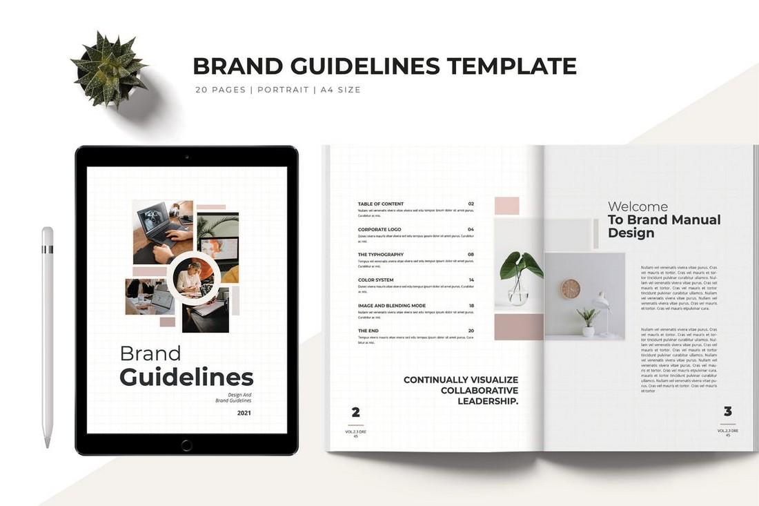 Brand Guidelines - Word Brochure Template