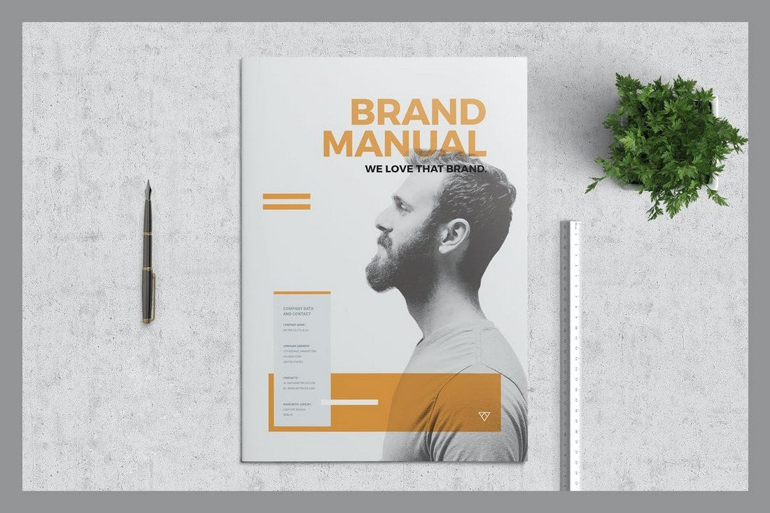 Brand Manual - Affinity Publisher Brochure Template