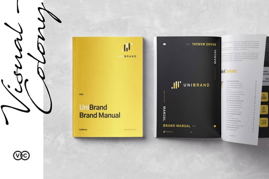 Brand Manual InDesign Template
