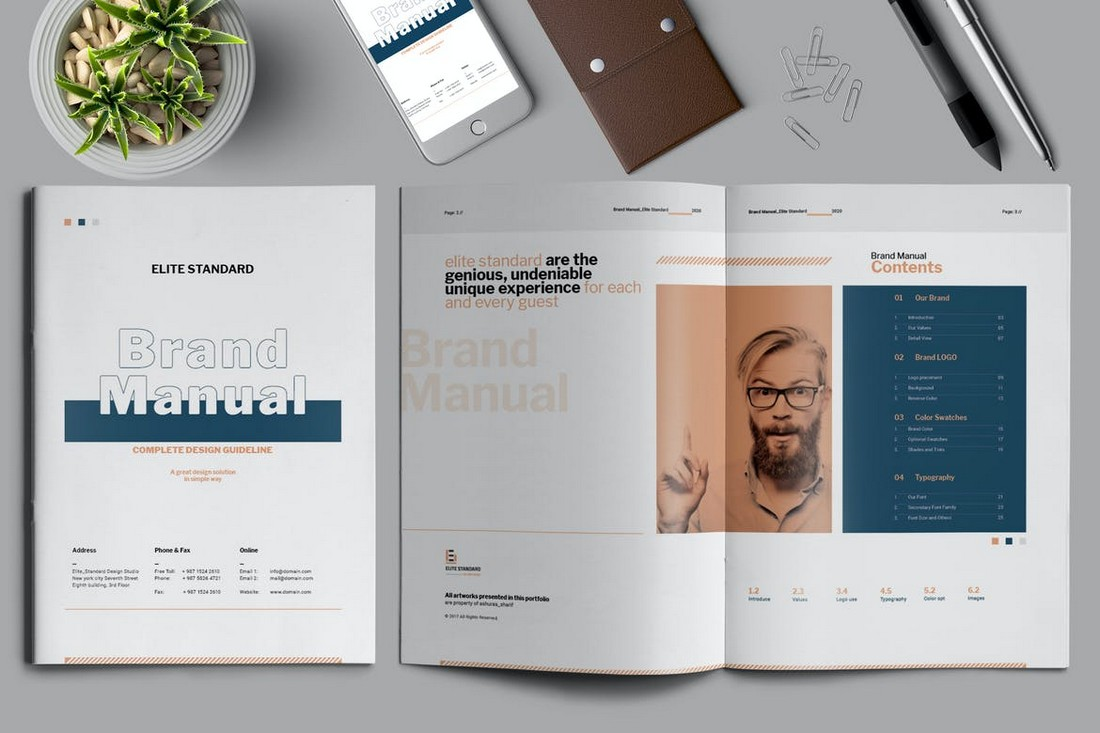 Brand-Manual-Template-For-Startups 20+ Best Brand Manual & Style Guide Templates 2020 (Free + Premium) design tips