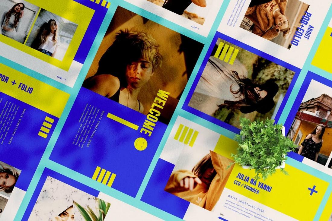 Brand Portfolio PowerPoint Template