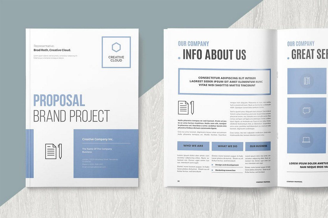 Brand-Proposal-Template 40+ Best Microsoft Word Brochure Templates 2020 design tips  Inspiration|brochure|templates