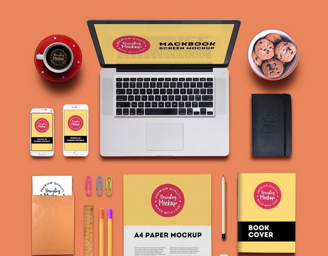 Branding and Identity Mockup Generator