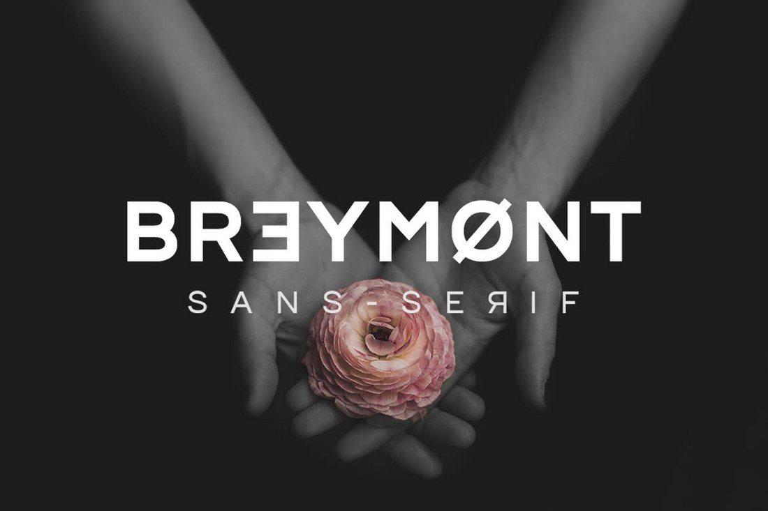 Breymont 30+ Best Modern & Futuristic Fonts 2021 design tips